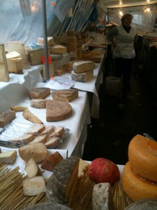 Endless rows of fromage