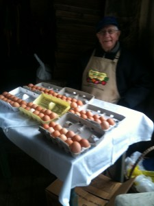 Clarence's Eggs - a staple at our markets