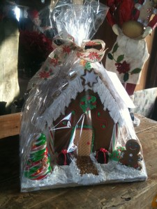 """Darlene's Ginger Bread Houses - check the event page for """"make your own workshop"""""""