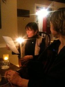 Reading Burns Night