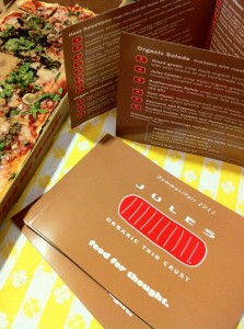 Jules Thin Crust - Food for Thought - organic food that tastes great too